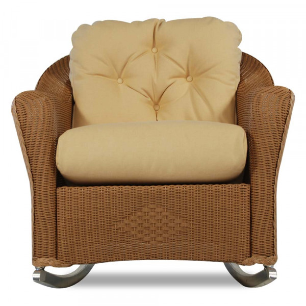 Lloyd Flanders Reflections Wicker Deep Seating Rocking Chair - SPECIAL OPPORTUNITY BUY