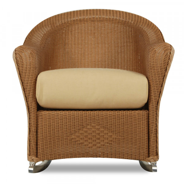 Lloyd Flanders Reflections Wicker Porch Rocker - Replacement Cushion