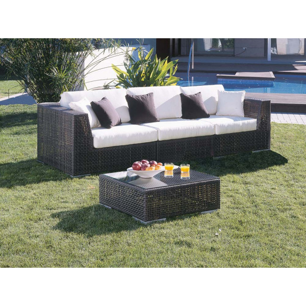 Hospitality Rattan Soho Wicker Sofa