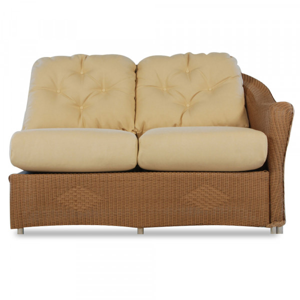 Lloyd Flanders Reflections Right Arm Facing Wicker Loveseat - Replacement Cushion