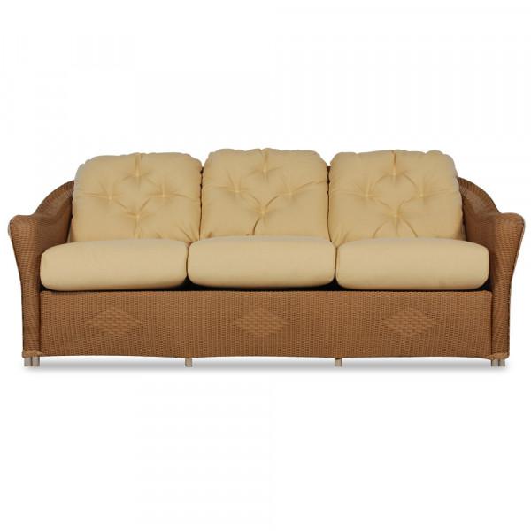 Lloyd Flanders Reflections Wicker Sofa