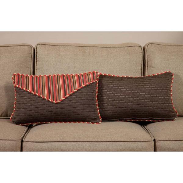 South Sea Rattan All Weather Dorsett Small Throw Pillow