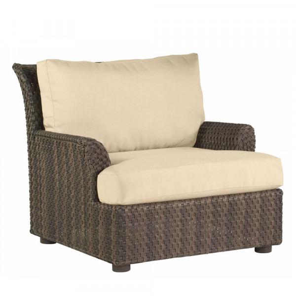 WhiteCraft by Woodard Aruba Wicker Lounge Chair