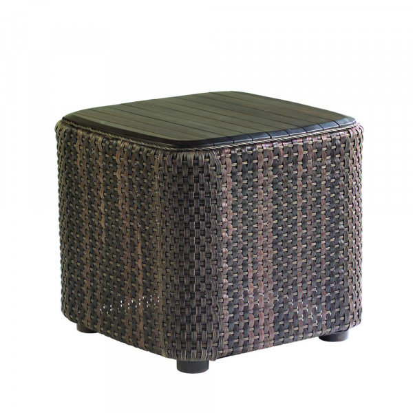 WhiteCraft by Woodard Aruba Wicker End Table