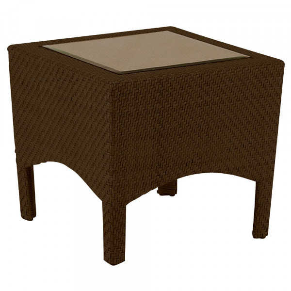 WhiteCraft by Woodard Trinidad Wicker End Table