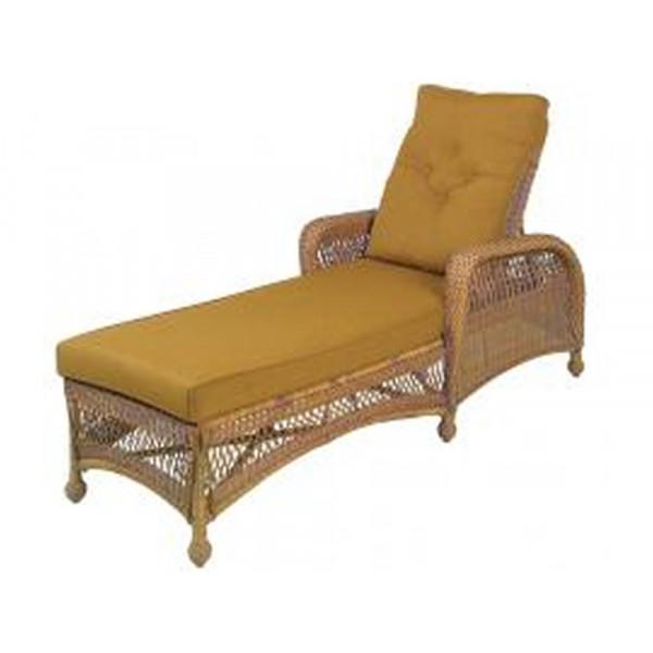 Longboat Key Casa Del Mar Adjustable Wicker Chaise Lounge