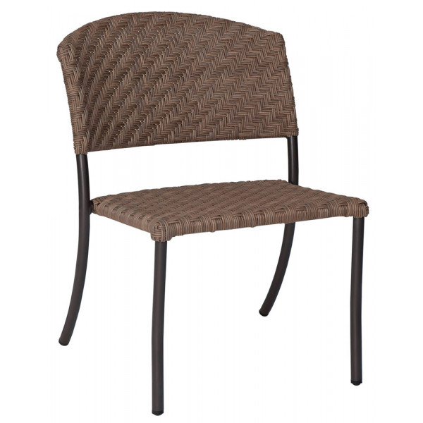 Whitecraft By Woodard Barlow Armless Wicker Dining Chair Replacement Cushion