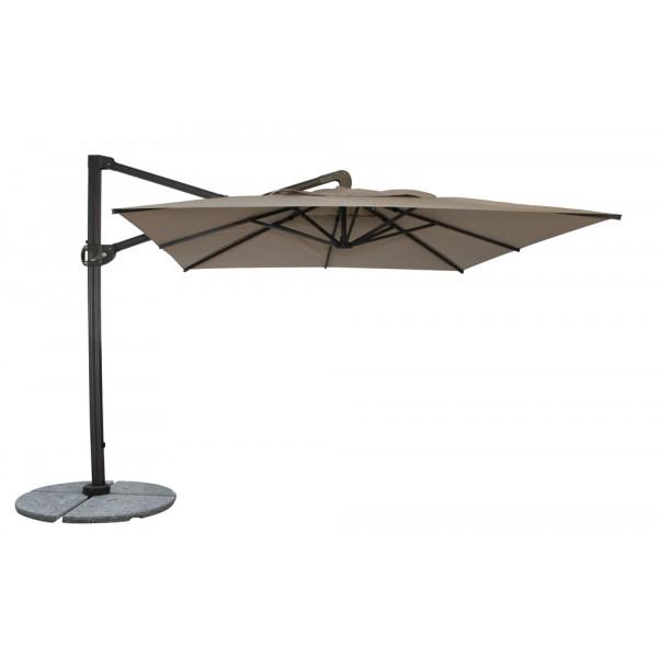 Woodard Cantabria 10' Square Cantilever Umbrella