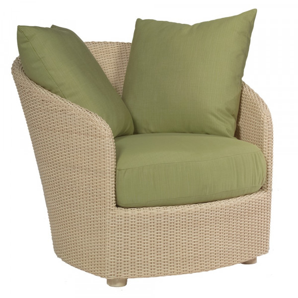 WhiteCraft by Woodard Oasis Wicker Lounge Chair - Replacement Cushion