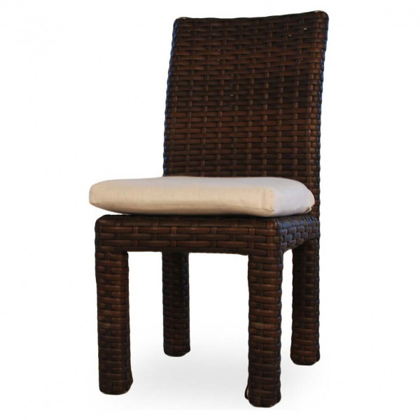 Lloyd Flanders Contempo Wicker Parsons Dining Chair