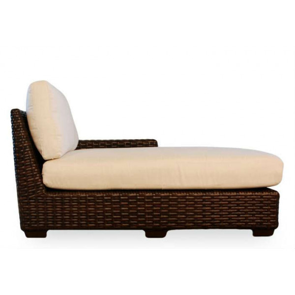 Lloyd Flanders Contempo Right Arm Facing Wicker Chaise Lounge - Replacement Cushion