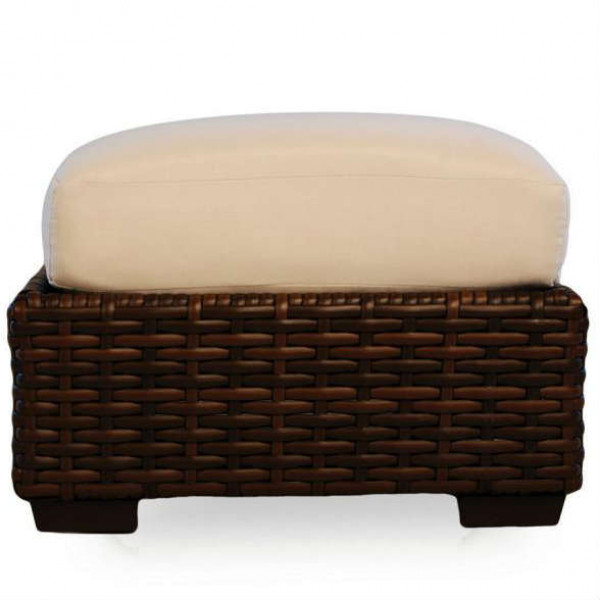 Lloyd Flanders Contempo Wicker Ottoman - Replacement Cushion