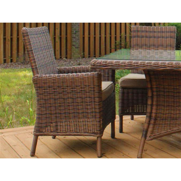 South Sea Rattan Del Ray Wicker Dining Chair
