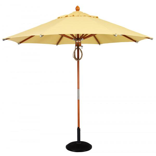 Woodard Deluxe Wood 9' Octagonal Umbrella