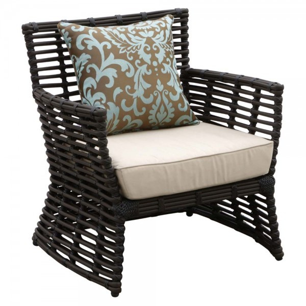 Sunset West Venice Wicker Lounge Chair - Replacement Cushion