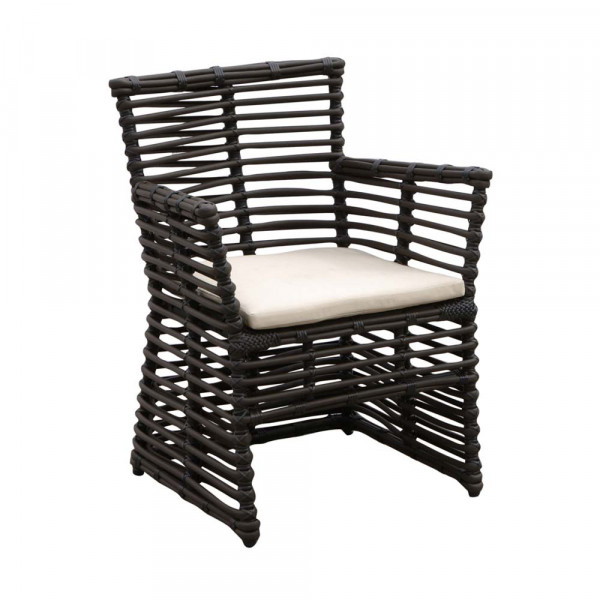 Sunset West Venice Wicker Dining Chair