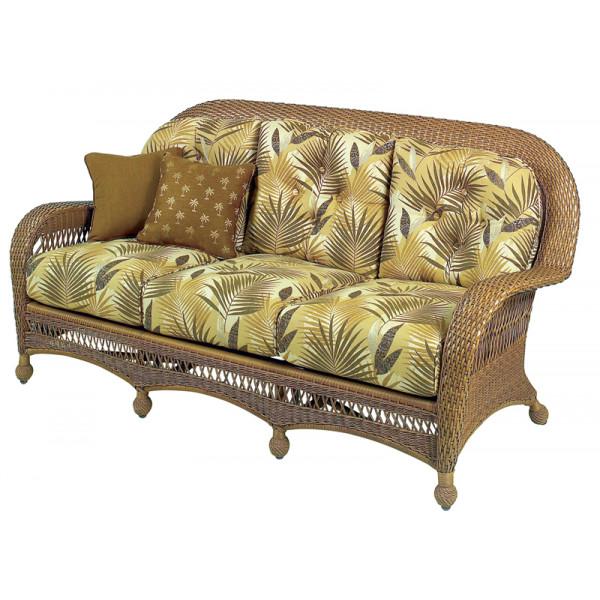 Longboat Key Casa Del Mar Wicker Sofa