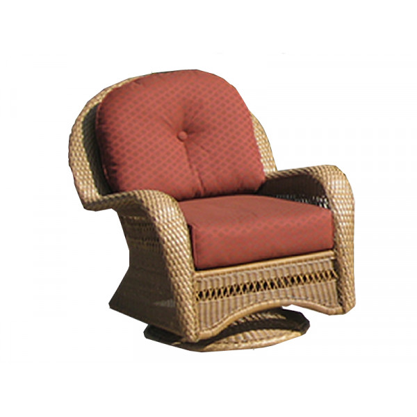 Longboat Key Casa Del Mar Wicker Swivel Glider