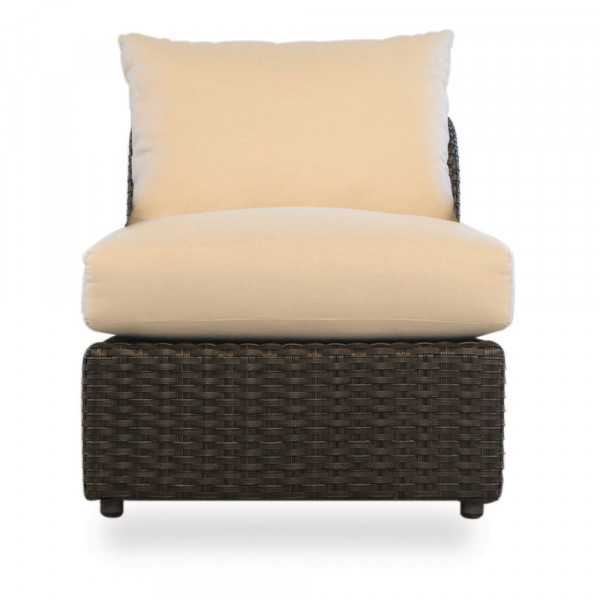 Lloyd Flanders Flair Armless Wicker Lounge Chair - Replacement Cushion