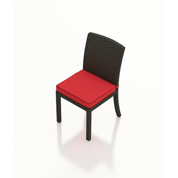 Forever Patio Barbados Armless Wicker Dining Chair - Replacement Cushion