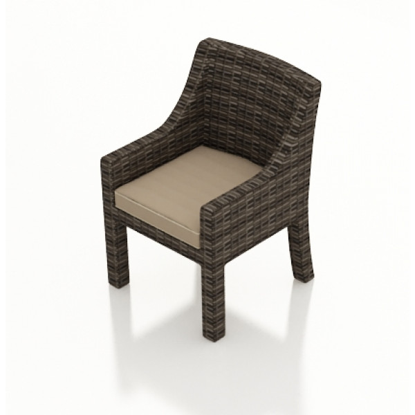 Forever Patio Pavilion Wicker Dining Chair - Replacement Cushion