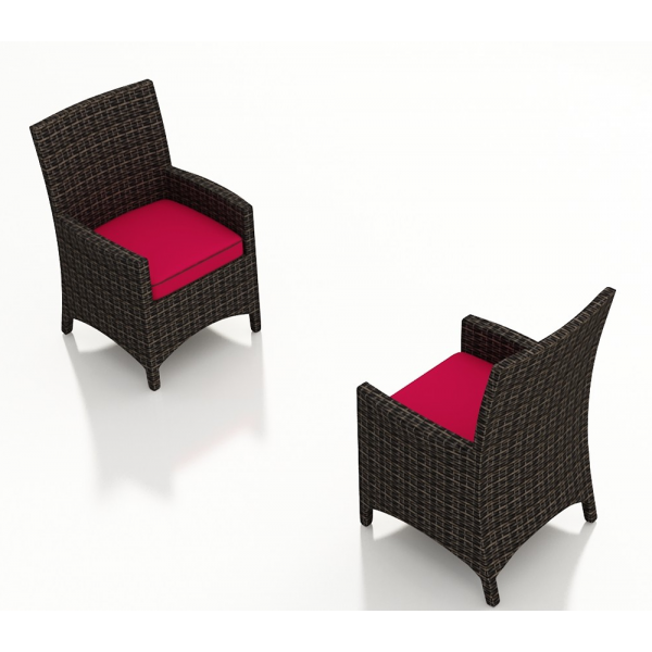 Forever Patio Capistrano Wicker Dining Chair - Replacement Cushion