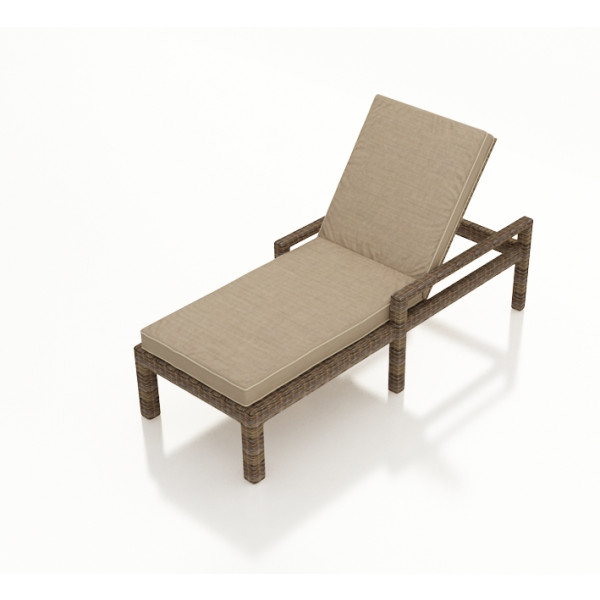 Forever Patio Cypress Adjustable Wicker Chaise Lounge