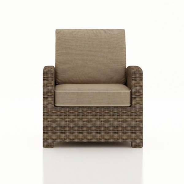 Forever Patio Cypress Wicker Lounge Chair - Replacement Cushion