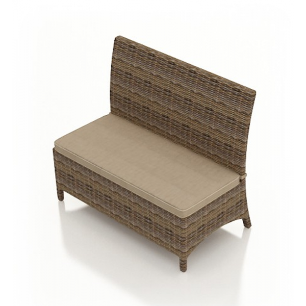 Forever Patio Cypress Wicker Dining Bench - Replacement Cushion