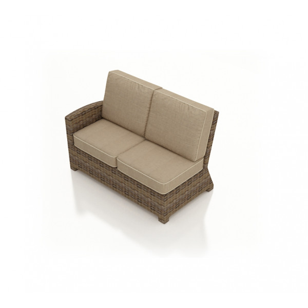 Forever Patio Cypress Left Arm Facing Wicker Loveseat - Replacement Cushion