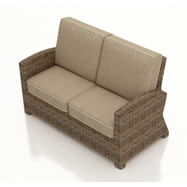 Forever Patio Cypress Wicker Loveseat