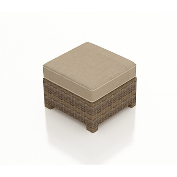 Forever Patio Cypress Wicker Ottoman