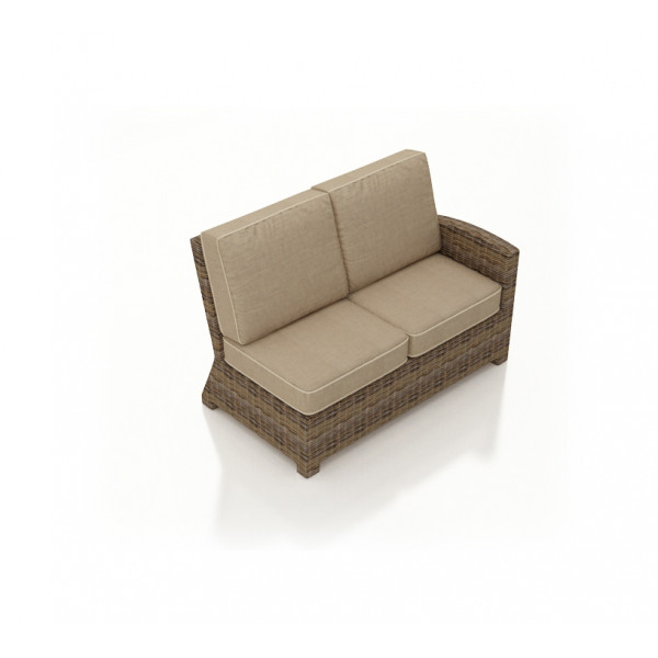 Forever Patio Cypress Right Arm Facing Wicker Loveseat