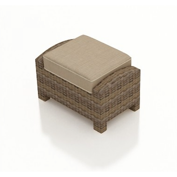 Forever Patio Cypress Wicker Rectangular Ottoman - Replacement Cushion