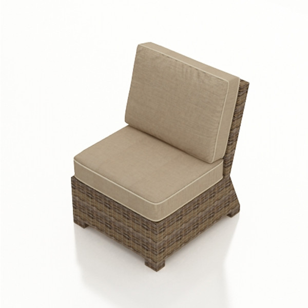 Forever Patio Cypress Armless Wicker Lounge Chair - Replacement Cushion