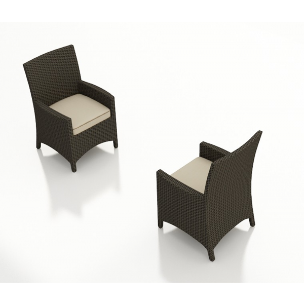 Forever Patio Hampton Wicker Dining Chair - Replacement Cushion