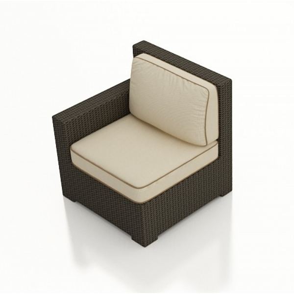 Forever Patio Hampton Left Arm Facing Wicker Lounge Chair - Replacement Cushion