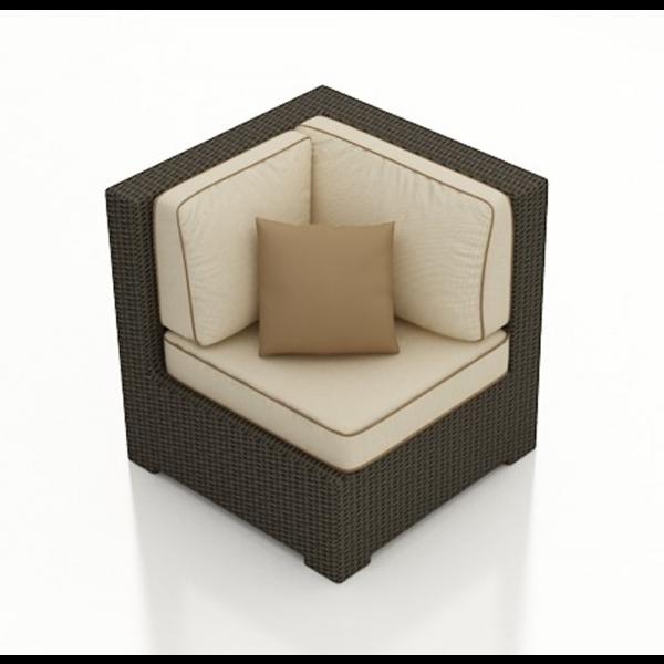 Forever Patio Hampton Wicker Corner Chair - Replacement Cushion