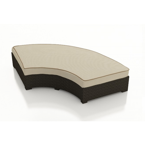 Forever Patio Hampton Grande Wicker Bench - Replacement Cushion