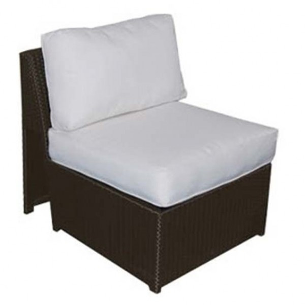 Forever Patio Soho Wicker Armless Club Chair - Replacement Cushion