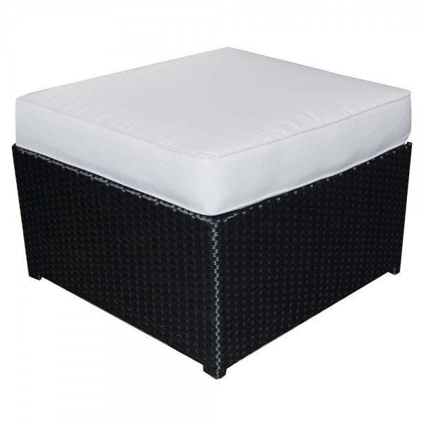 Forever Patio Soho Wicker Ottoman - Replacement Cushion