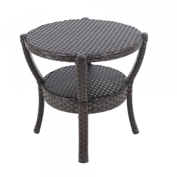 Sunvilla Elise Wicker End Table