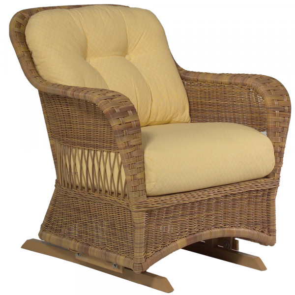 WhiteCraft by Woodard Sommerwind Wicker Glider