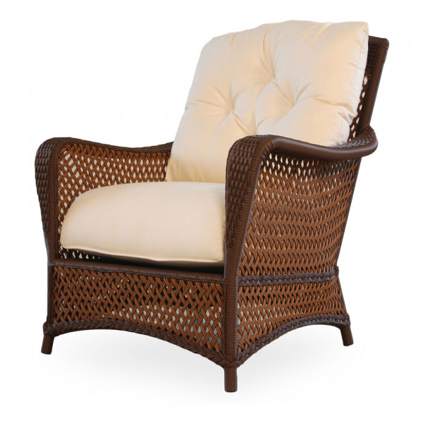 Lloyd Flanders Grand Traverse Wicker Lounge Chair