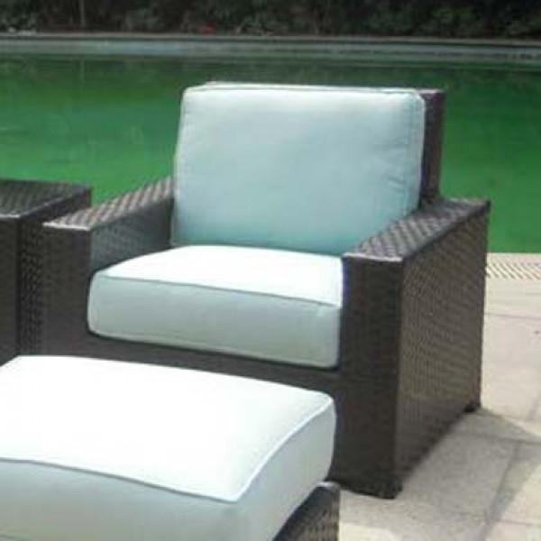 Longboat Key Santa Monica Wicker Lounge Chair