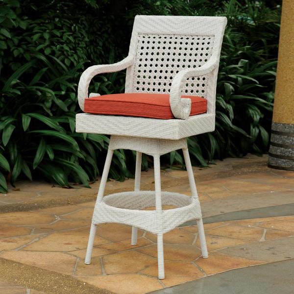 South Sea Rattan Halifax Wicker Bar Chair