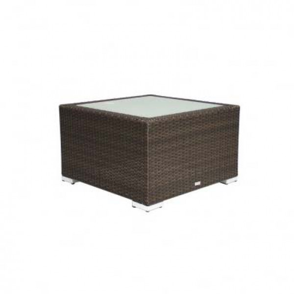 Source Outdoor Lucaya Square Wicker Coffee Table