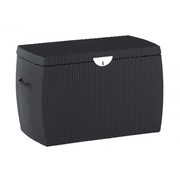 Domus Ventures Ipanema Wicker Storage Box - Coffee