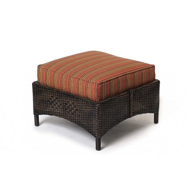 Lloyd Flanders Centennial Wicker Ottoman - Replacement Cushion
