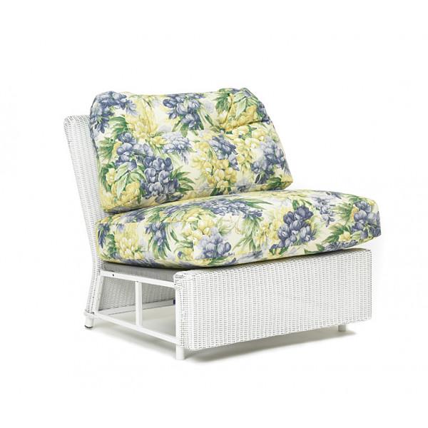 Lloyd Flanders Casa Grande Armless Wicker Lounge Chair - Replacement Cushion